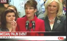 Palin Jokes About Biden's Age