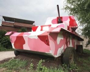 Pink Pedal Powerd Panzer