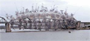 Historic Missouri River Bridge