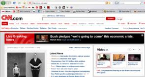 Bush is gonna come