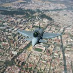 Eurofighter over Seville