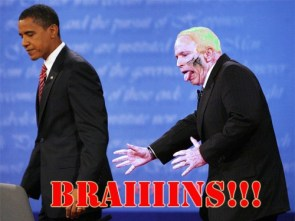 McCain Needs Brains!