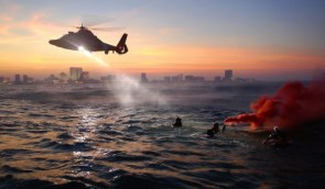 USCG Rescue Swimmers