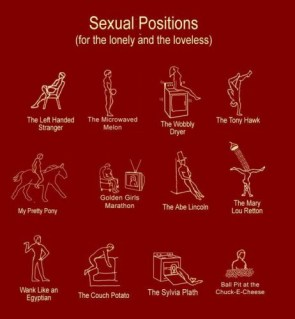 Sexual positions for the lonely and loveless