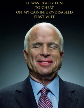 What John McCain is thinking right now.