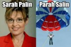 What Sarah Palin wishes she was doing right now.
