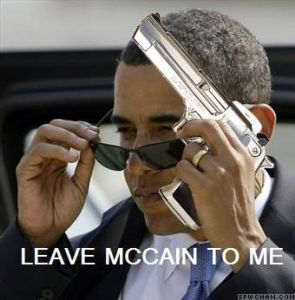 "Obama: ""Leave McCain to me"""