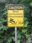 Funny Caution Sign