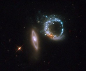 The Double Ring Galaxies of Arp 147 from Hubble