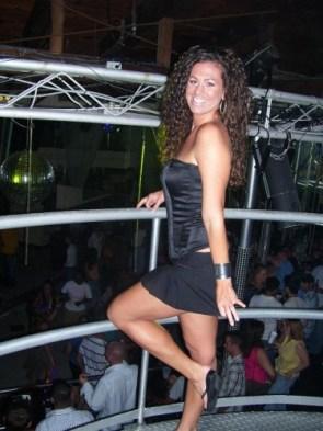 Wonder Woman at the club