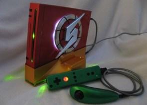 Metroid Wii case mod