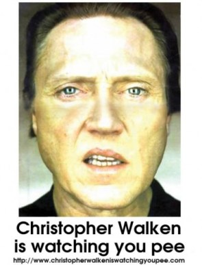 Walken Watching You Pee
