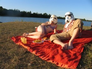Young stormtroopers in Love
