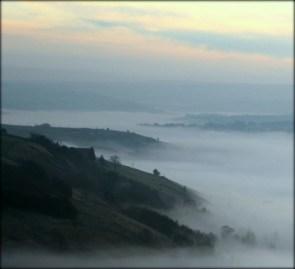 A sea of mist