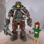 Lego Big Daddy With Little Sister