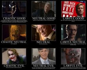 Good VS. Neutral VS. Evil