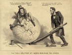 Lincoln & Johnson Political Cartoon