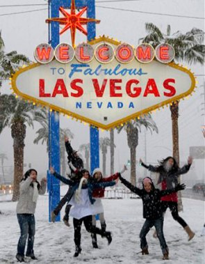 Snow in Vegas