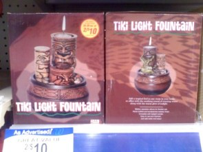 Tiki Light Fountain