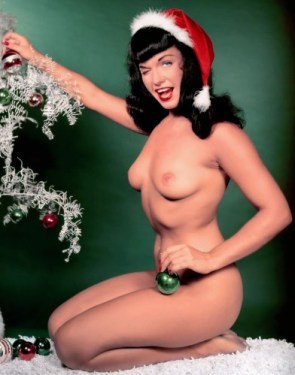 NSFW – Bettie Page Christmas