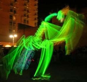 Burning man mantis