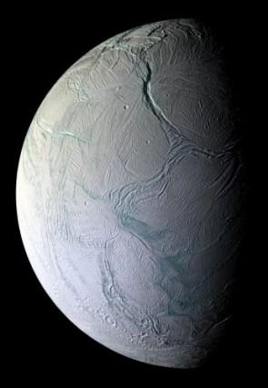 Labtayt Sulci on Saturn's Enceladus
