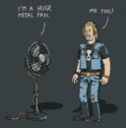 I\'m a huge metal fan!