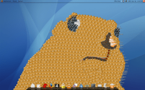 Desktop Clutter Art