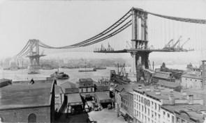 Building the Manhattan Bridge