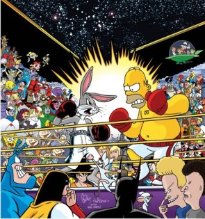 Ultimate Cartoon Boxing Match