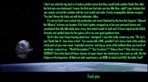 Death Star 2 rant