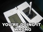 Broken Nintendo DS
