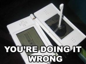 Broken Nintendo DS