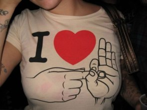 I ♥ it in the _____.