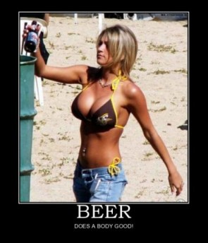 Beer does a body good