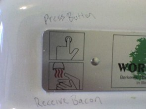 Push here for Bacon