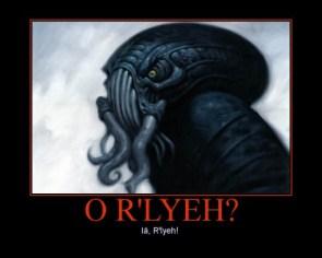 O'Rlyeh?