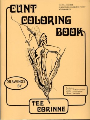 cunt colouring book