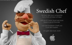 The Swedish Chef for Apple Computers