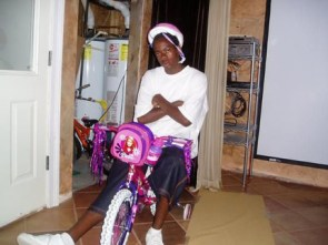 Gangsta on a Gangsta Bike