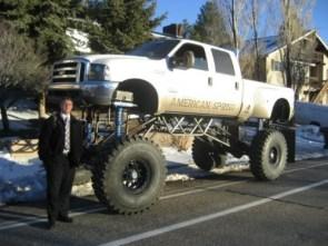 Tall Truck is Tall