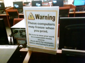 I.T. Department FAIL