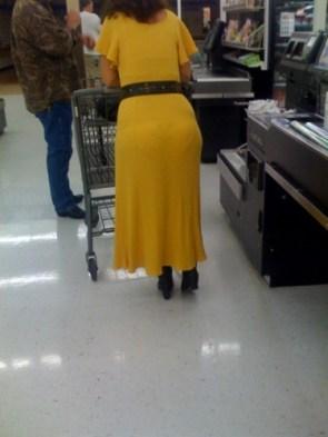 Smiley at Wal-Mart