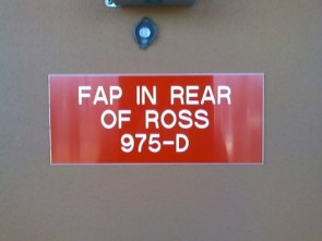 FAP in Back of Ross