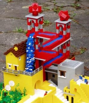 Escher in LEGO