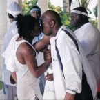 Lil Wayne kisses his friend