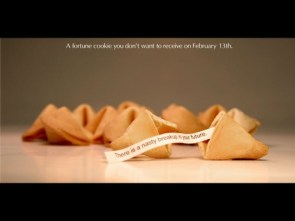 A fortune cookie you don`t want to receive on February 13th