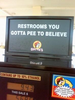 Pee to believe