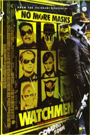 No More Masks Watchmen Poster