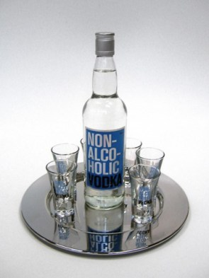 Non alcoholic vodka